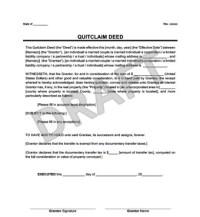quit claim deed form washington state instructions ...