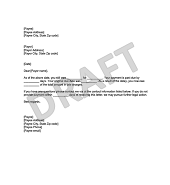 Demand-For-Payment-Example-Thumbnail Sample Demand Letter Template For Money Owed on