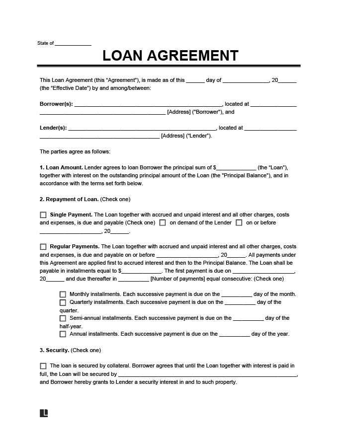 Like this sample loan sample forms. Free Loan Agreement Template Simple Personal Employee Family
