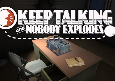 Keep talking nobody explodes