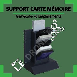 Support cartes mémoire Gamecube