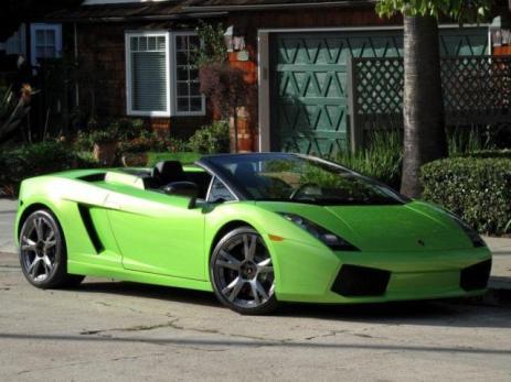 2008 Lamborghini Gallardo Lime Green 1