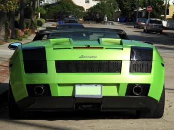 2008 Lamborghini Gallardo Lime Green 14