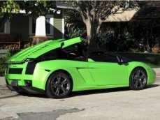 2008 Lamborghini Gallardo Lime Green 4