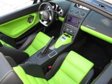 2008 Lamborghini Gallardo Lime Green 9