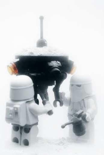 Snowtroopers con droide