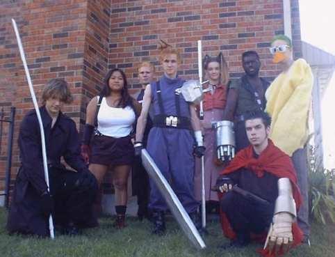 Final Fantasy VII (Gruppo)