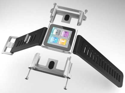 LunaTik Watch Exploded View