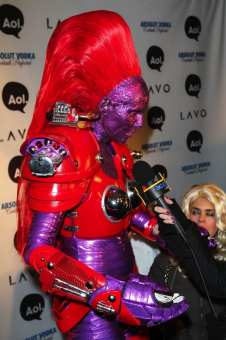 Heidi Klum and Seal Attend 'Heidi Klum's Annual Halloween Event' In NYC