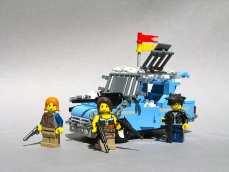zombie lego car