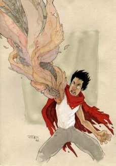 Tetsuo from Akira Movie
