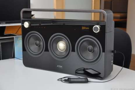 TDK Three Speaker Boombox-1