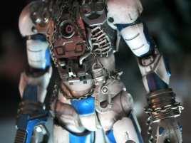 iron man robot detail