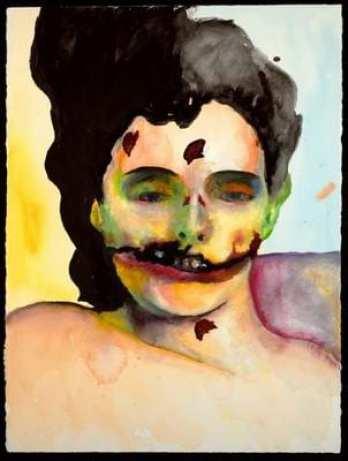 marilyn manson art mouth