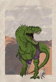 HULKasaurus Rex