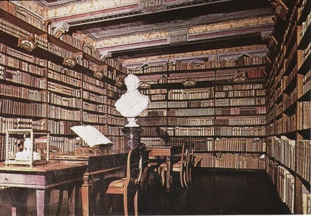 Librerie in casa di gente famosa LegaNerd