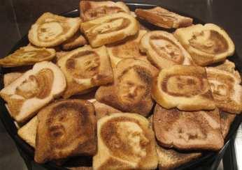 Hitler on toast