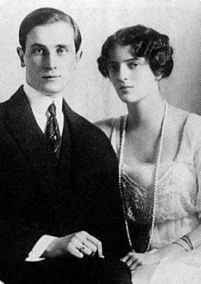 Yussupov e la moglie Irina