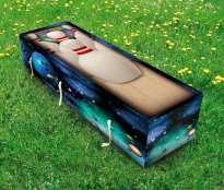 bowling coffin grass