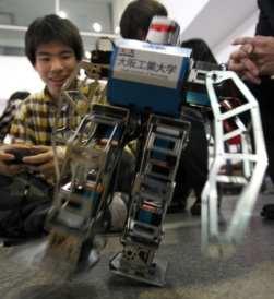 Osaka: maratona robot