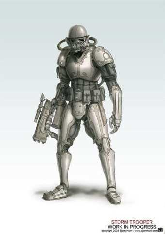 Star Wars a vapore - Stormtrooper