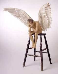 Ron Mueck - angel