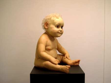 Ron Mueck - big baby 1