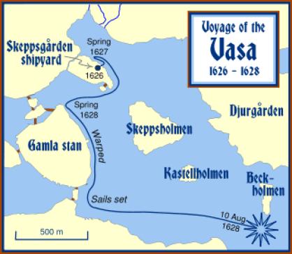 Il viaggio del Vasa