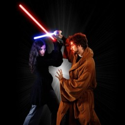 Jedi & Sith Bathrobes