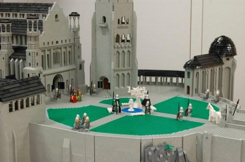 Lego Minas Tirith - 001