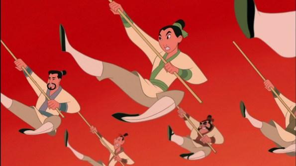 Mulan durante la canzone
