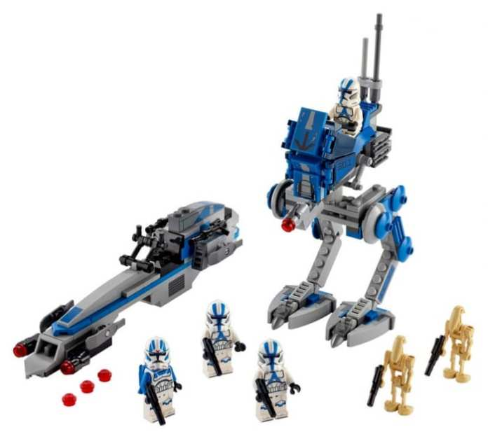 Lego Star wars 501st Legion Clone Troopers