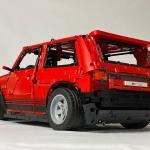 Fiat Uno Turbo Pronta La Versione Lego Technic Di Zeta Racing