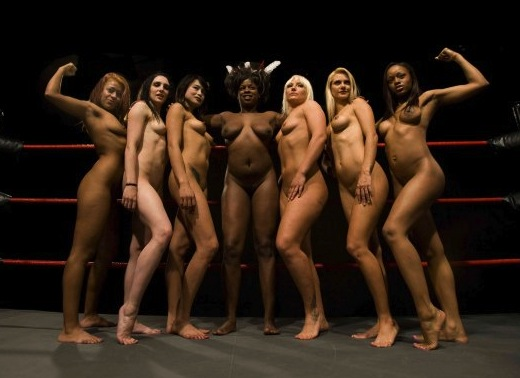 Nude women wrestling league