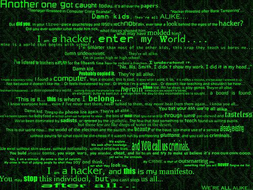 Manifesto Hacker LegaNerd