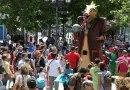 Niños y niñas de Leganés volverán a celebrar juntos la fiesta 'A hombros de gigantes'