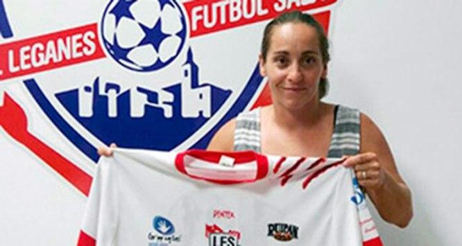 Fichaje Laura Jimenez Leganes Futbol Sala