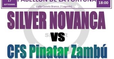 Silver Novanca previa CFS Pinatar Zambu