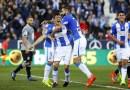 Goleada balsámica del Leganés ante el Deportivo que acerca la permanencia