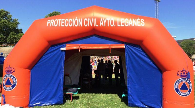 Puesto Avanzado Proteccion Civil Leganes