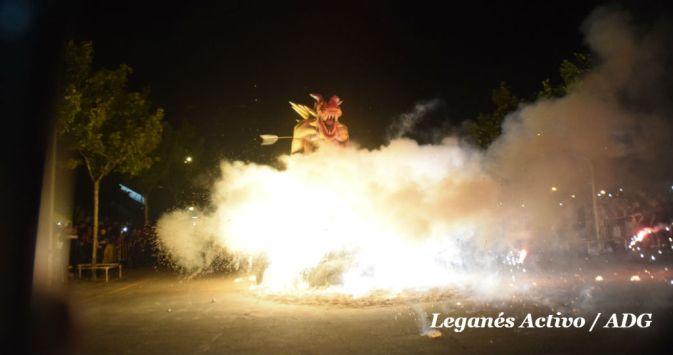 Noche de San Juan Leganes 2017 portada