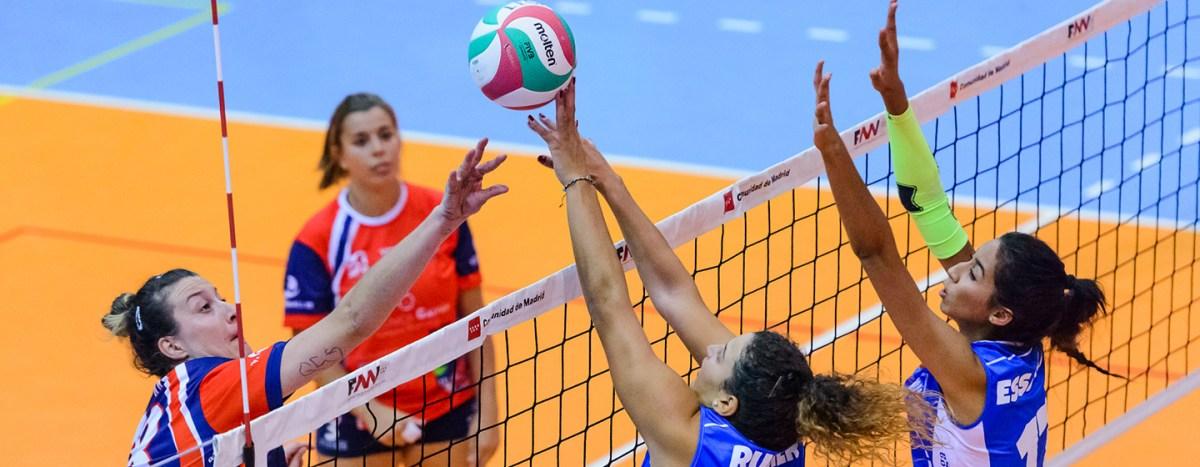 Las chicas de Superliga2 de Voleibol sufren en la parte baja de la tabla