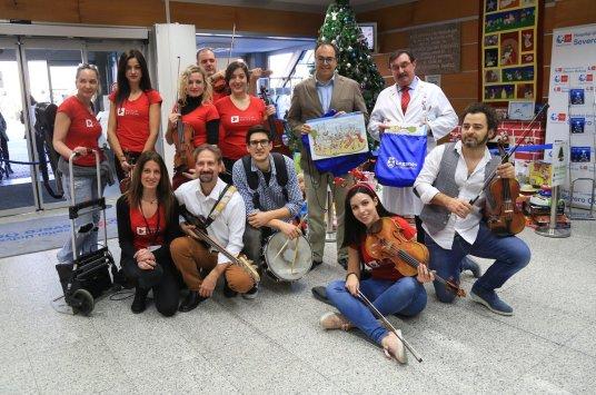 Arbol solidario del Hospital Severo Ochoa