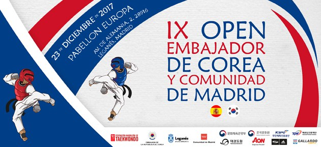 open internacional taekwondo comunidad de madrid