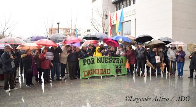 manifestacion de pensionistas