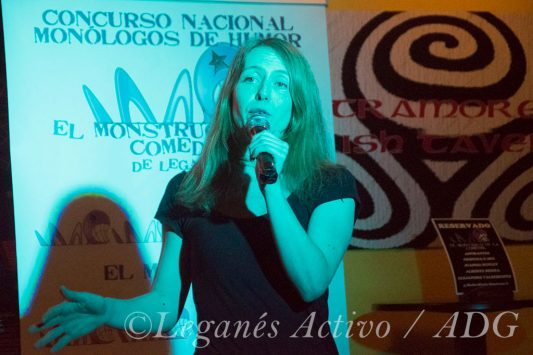 Cristina Gómez Concurso Monstruo de la Comedia Leganés Activo