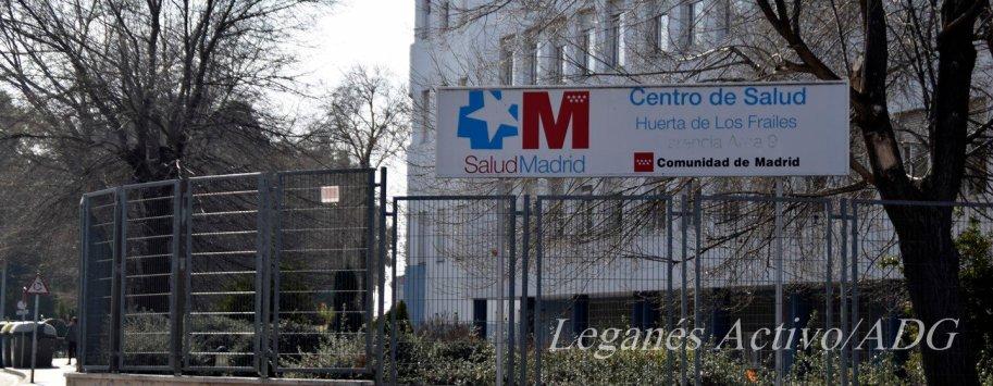 centro de salud frailes leganes