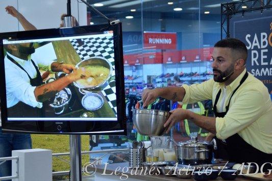Showcooking Gonzalo D'Ambrosio. Leganés Activo