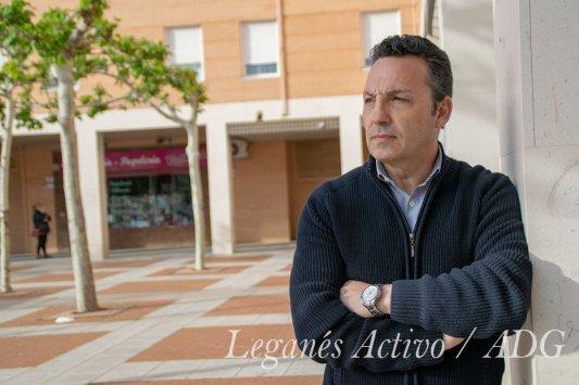 José Manuel Egea Ciudadanos Leganés