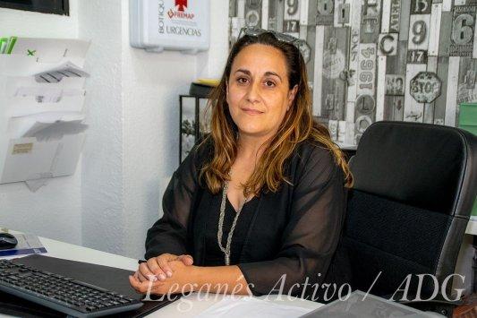 Beatriz Tejero candidata de VOX Leganés